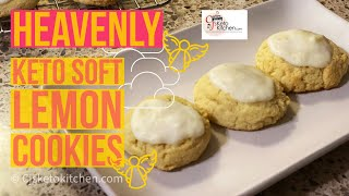 Heavenly Keto Soft Lemon Cookies! #Delicious #KetoRecipe #LowCarbrecipe screenshot 3