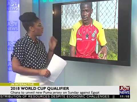Ghana to unveil new Puma jersey on Sunday against Egypt - Joy News Interactive (8-11-17)