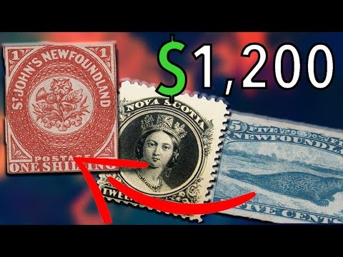 RARE CANADIAN STAMPS - RARE AND VALUABLE STAMPS WORTH MONEY
