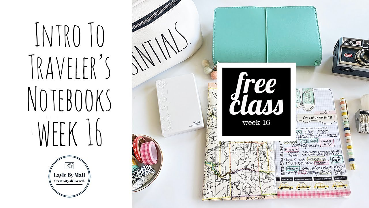 Prepping to Take Your Traveler's Notebook & Supplies On the Go