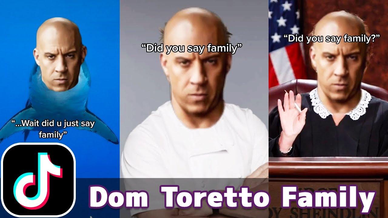 Dom Toretto Family Memes - Fast and Furious   TikTok Compilation