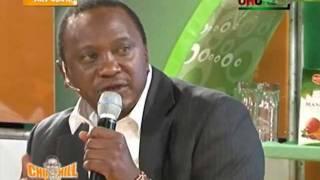 Uhuru Kenyatta on Churchill Live