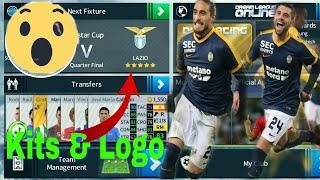 How to create S.S Lazio Team Kits and logo 2019 | Dream League Soccer 2019