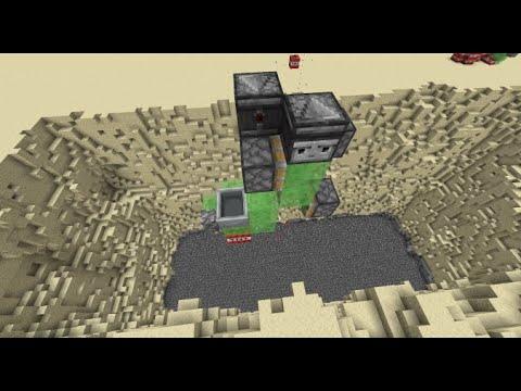 Minecraft Automatic Mining Machine