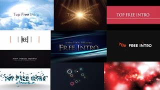 Top 10 Free After Effects CC CS6 Intro Templates No Plugins + Download