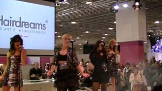 Queensberry live auf der Hairdreams Bühne der Hair Messe
