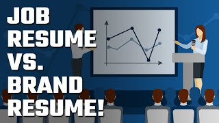 🎯 Job Resume vs. Brand Resume!