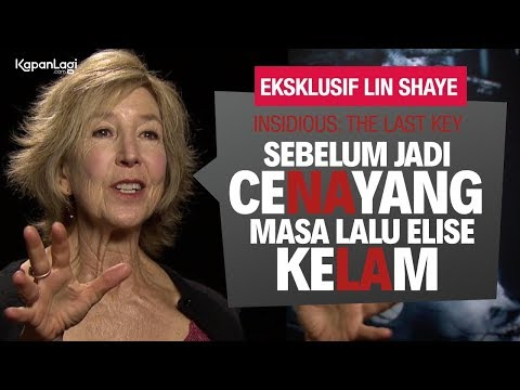 INSIDIOUS: THE LAST KEY Eksklusif Lin Shaye