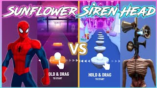 Hop Ball 3D - Post Malone - Sunflower 🌻 VS Siren Head (PedroDjDaddy) V Gamer