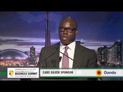 Nigeria Oil King, Mr. Tinubu President & CEO of Oando Plc presentation at CABS2014