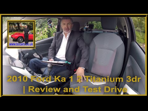 Review and Virtual Video Test Drive In Our Ford Ka 1 2 Titanium 3dr DK60XJW