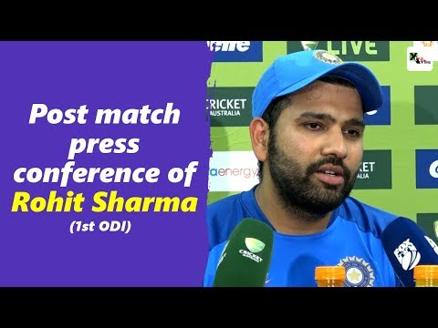 Watch: Rohit Sharma's post first ODI press conference   Australia vs India