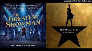 MASHUP | Hamilton vs. The Greatest Showman - Theodosia's Million Dreams
