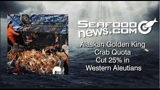 Alaska announces it has cut the quota for Golden King Crab