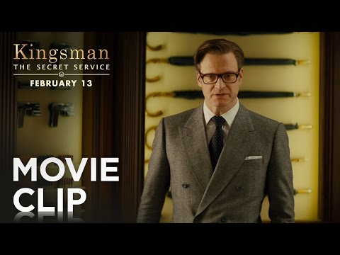"""Kingsman: The Secret Service   """"Weapons Cache"""" Clip [HD]   20th Century FOX"""