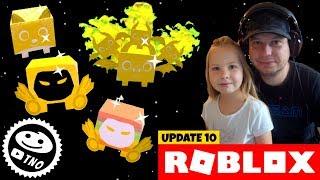 🌈 RAINBOW and GOLDEN PETS-New Egg! 🐾 Pet Simulator!   Roblox   Daddy and Barunka CZ/SK