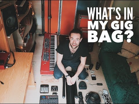 What's In My Gig Bag? //  VLOG[145]