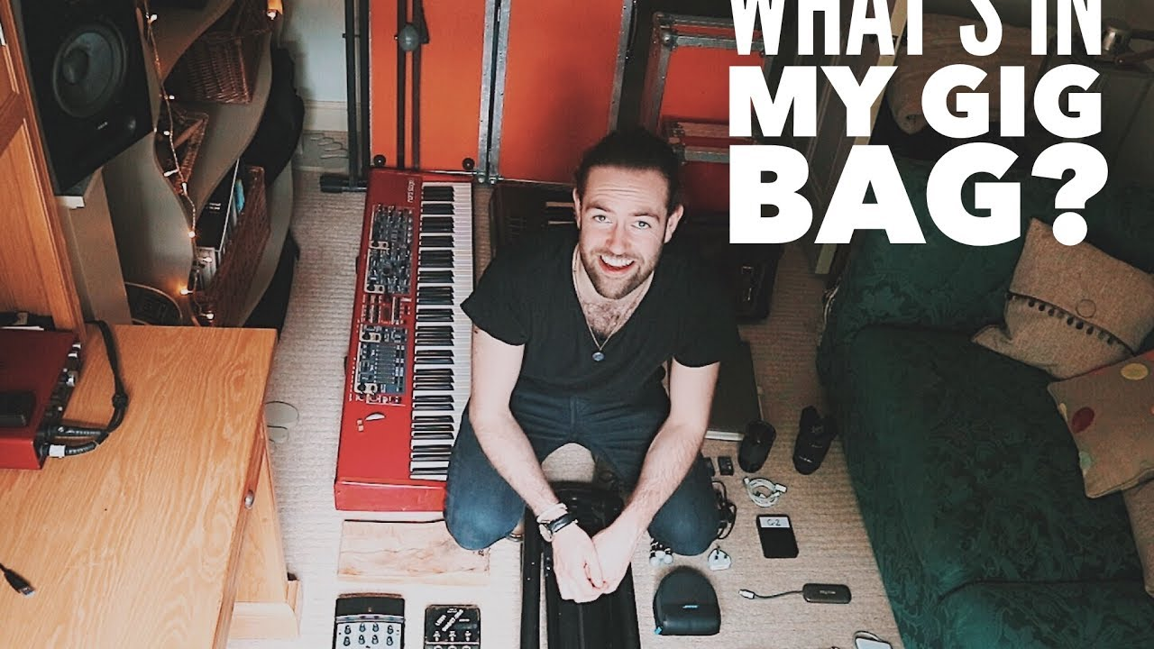 c7ead03cde What's In My Gig Bag? // VLOG[145] - YouTube
