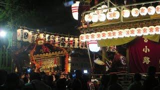 佐倉の秋祭り最終日クライマックス(宮入り)2016-10-16 Sakura Autumn Fesitival, Sakura, Chiba, Japan