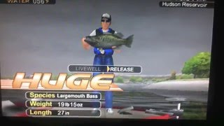 Music Video of The GIANT BASS IN BASS STRIKE P S 2 GAME