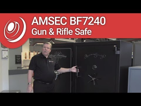 AMSEC BF7240 Gun & Rifle Safe With Dye The Safe Guy