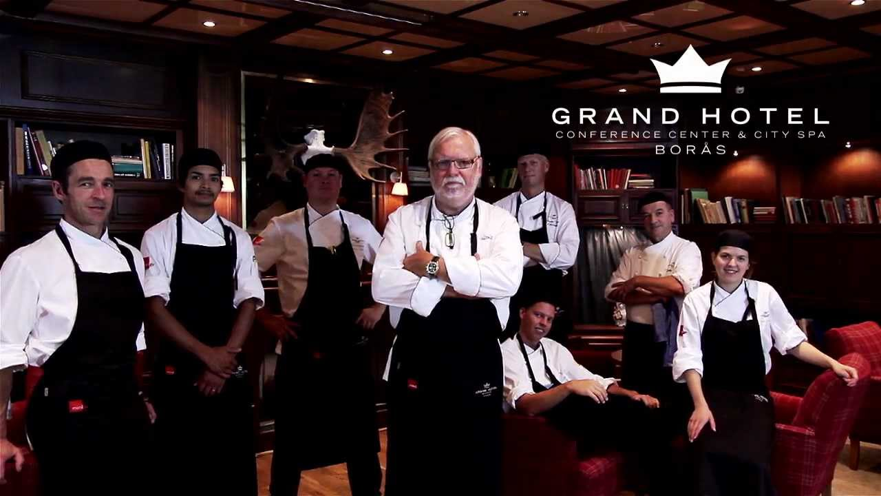 0e103a5ad086 Julbord med Leif Mannerström på First Hotel Grand Borås - YouTube