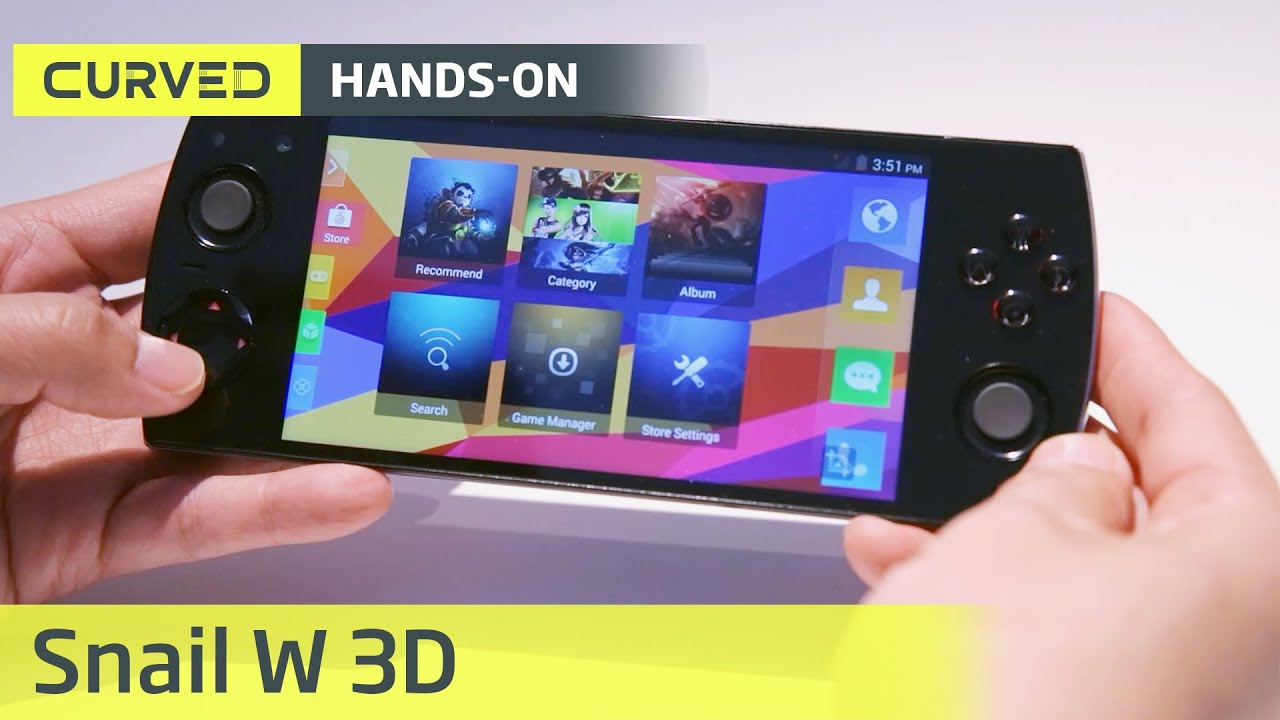 Snail W3D im Hands-On | deutsch | MWC - YouTube