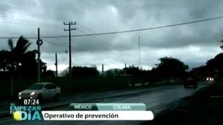 Alerta en Colima por cercanía de tormenta Bud
