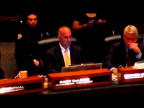 DeLong, City Council General Meeting, Long Beach, 9/11/12 (Part 2)