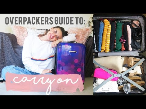 OVERPACKERS GUIDE: Packing Carry On | Rylie Lane