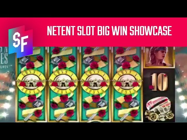 Big Wins On NetEnt Slots - Guns'N'Roses & Lost Relics (SlotsFighter)