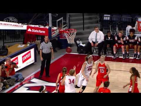 Liberty Woman's Basketball Send Off