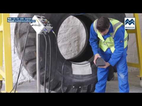 Monaflex Tutorial: Bead repairs in giant OTR tyres (up to Bead sole width 4.75″)