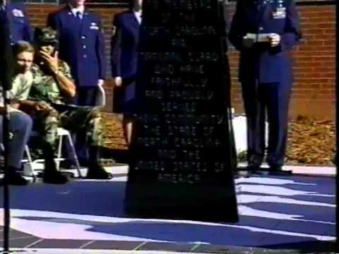NC Air National Guard Memorial Dedication