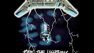 METALLICA RIDE THE LIGHTING ALBUM GUITAR COVER E/B