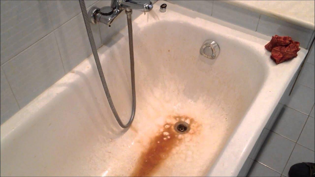 Vasca Da Bagno Ruggine : Reba sanificazione impianto youtube