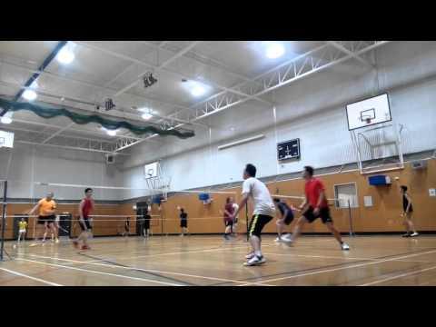 Glenunga Badminton 4/11/15 1/2