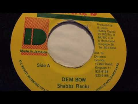 Shabba Ranks - Dem Bow - Digital B
