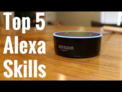 Amazon Alexa Top 5 Skills