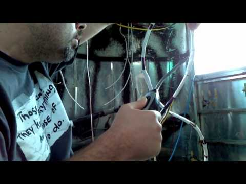 Airstream Renovation Phase III - Electrical Wiring