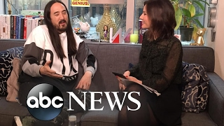 Steve Aoki | Real Biz with Rebecca Jarvis | ABC News thumbnail