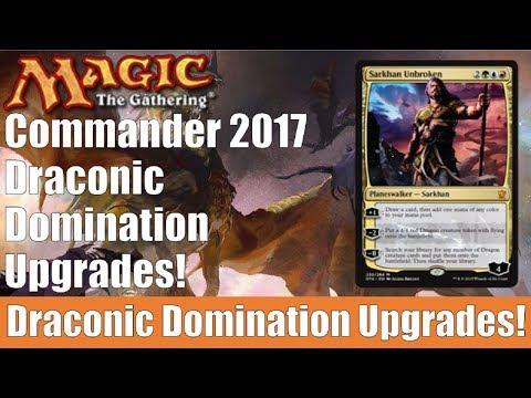 MTG Commander 2017 Draconic Domination Upgrades!