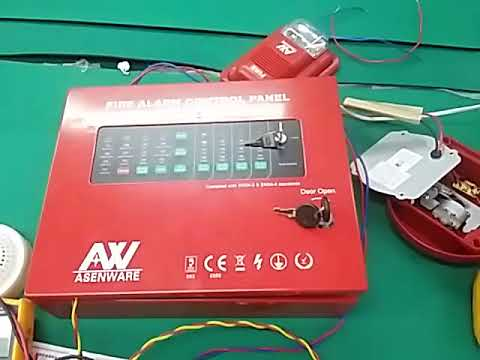 conventional fire alarm control panel wiring diagram photosynthesis step by asenware system 2166 series test before shipment