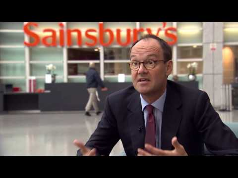 Profits fall and shares slump at Sainsbury's
