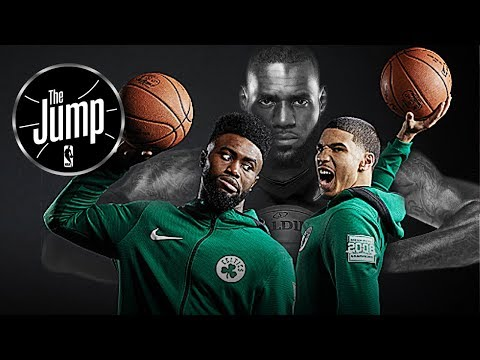 T-Mac Thinks Celtics Young Duo Jayson Tatum & Jaylen Brown Are Ready To Face LeBron | The Jump