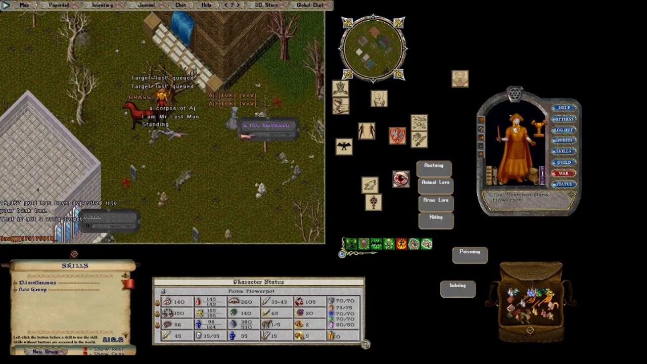 Repeat Ultima Online 2018 OSI PvP - The Best Necro DP