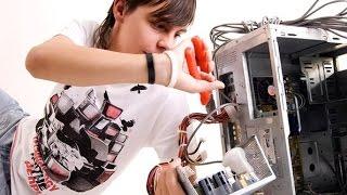 Как заменить установить блок питания компьютера How to Install or Replace a power supply