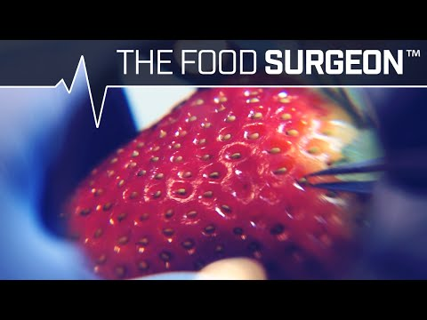 Strawberry Seed Extraction and Nutella Augmentation