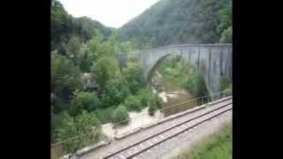 Vallée du Doux - de Tournon à Lamastre (Ardèche)