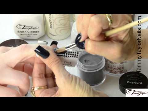 ♡ Tammy Taylor - 5 most Popular Nail Shapes with Almost Black Prizma Collection